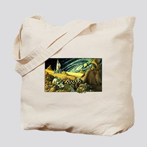 Alien Archeology Tote Bag