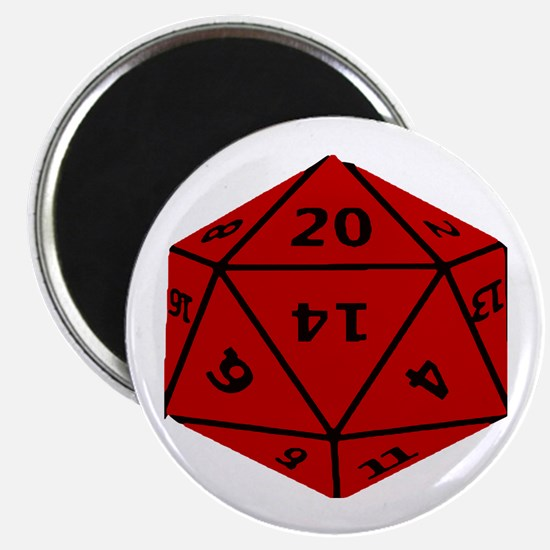 Geeky Dice Magnets