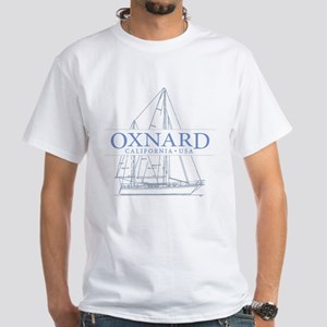 Oxnard CA - White T-Shirt