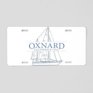 Oxnard CA - Aluminum License Plate