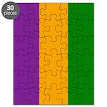 Mardi Gras Stripes Puzzle