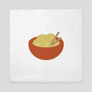 Bowl Of Noodles Queen Duvet