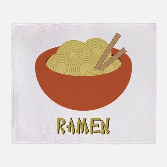 Ramen Throw Blanket