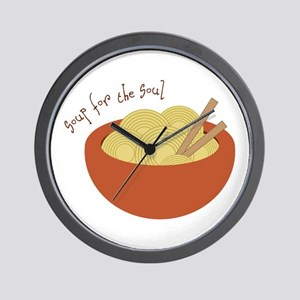 Soup For The Soul Wall Clock