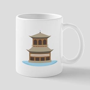 Asian Temple Mugs