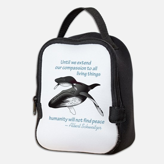 ALL LIVING CREATURES Neoprene Lunch Bag
