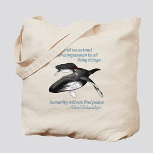 ALL LIVING CREATURES Tote Bag