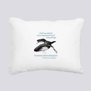 ALL LIVING CREATURES Rectangular Canvas Pillow