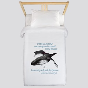 ALL LIVING CREATURES Twin Duvet