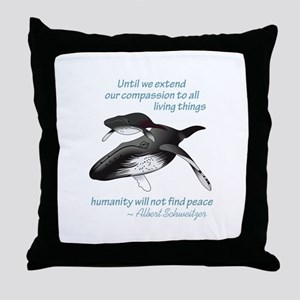 ALL LIVING CREATURES Throw Pillow
