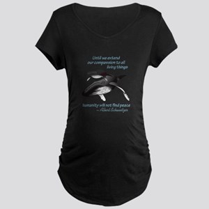 ALL LIVING CREATURES Maternity T-Shirt