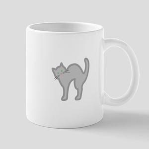 CAT APPLIQUE Mugs