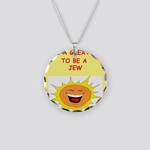 JEW Necklace Circle Charm