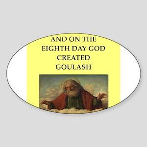 goulish Sticker (Oval)