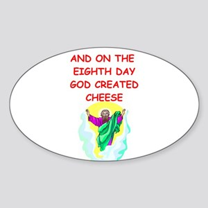 CHEESE Sticker (Oval)
