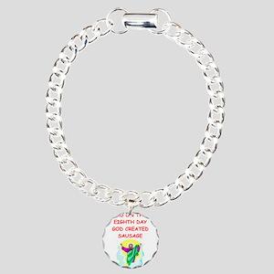 SAUSAGE Charm Bracelet, One Charm