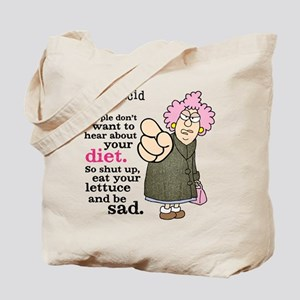Aunty Acid: Lettuce Diet Tote Bag