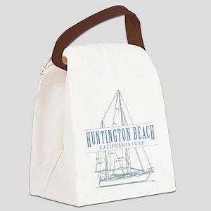 Huntington Beach - Canvas Lunch Bag