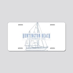 Huntington Beach - Aluminum License Plate