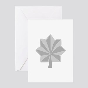 MAJOR LT COLONEL Greeting Cards
