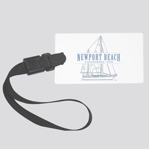 Newport Beach - Large Luggage Tag