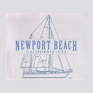 Newport Beach - Throw Blanket