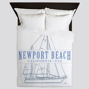 Newport Beach - Queen Duvet