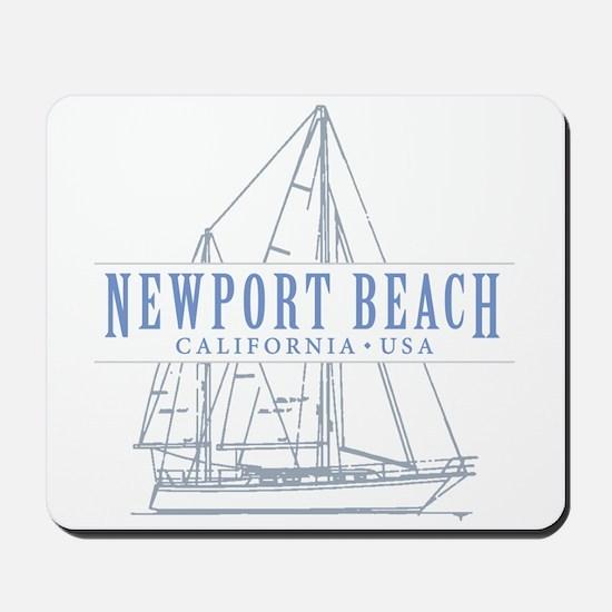 Newport Beach - Mousepad