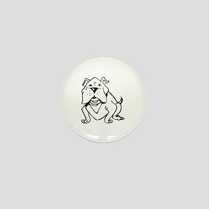 LG BULLDOG OUTLINE Mini Button