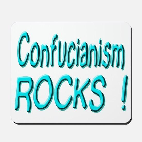 Confucianism Rocks ! Mousepad