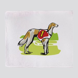 SALUKI DOG Throw Blanket