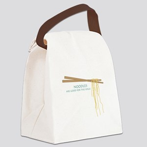 Noodles Are Good For The Slow! Canvas Lunch Bag