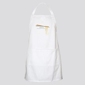Noodles Are Good For The Slow! Apron