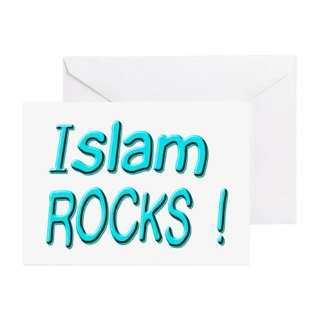 Islam Rocks ! Greeting Cards (Pk of 10)