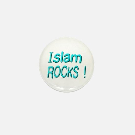 Islam Rocks ! Mini Button