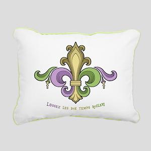 Laissez De Lis Rectangular Canvas Pillow