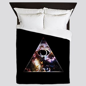 All Seeing All Knowing Queen Duvet