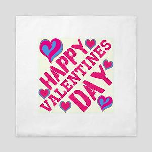 Happy Valentines Day ! Queen Duvet