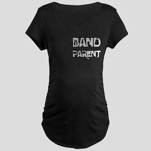Band Parent Maternity Dark T-Shirt