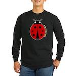 Ladybug Long Sleeve Dark T-Shirt