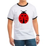 Ladybug Ringer T