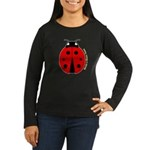 Ladybug Women's Long Sleeve Dark T-Shirt