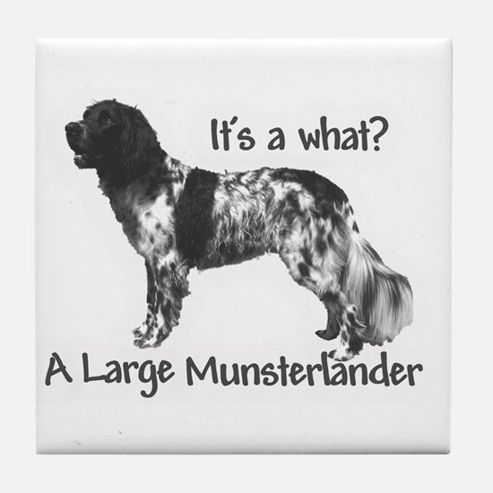 Munsterlander Tile Coaster