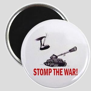 Stomp The War! Magnet
