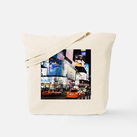 NYC at Night Tote Bag