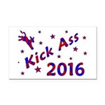 Kick Ass 2016 Rectangle Car Magnet