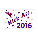 Kick Ass 2016 Car Magnet 20 x 12