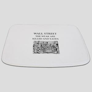 wall street Bathmat