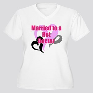Married to a Hot Doctor Plus Size T-Shirt