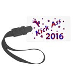 Kick Ass 2016 Luggage Tag